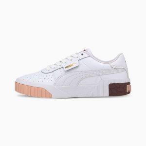 Puma Chaussure Baskets Cali enfants et adolescents, Blanc/Rouge, Taille 37, Chaussures