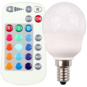 Müller Licht AMPOULE LED E14 400351 EN FORME DE GOUTTE 5 W = 25 W RVBB (Ø X L) 45 MM X 80 MM EEC: CLASSE A A COULEUR CHA