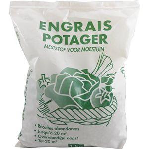 NONA Engrais pour potager - 1 kg - Potager - 1 kg - Formulation composée d'éléments essentiels - Sous forme de granulés