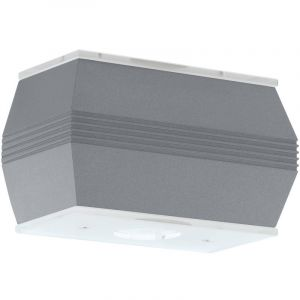 Eglo Une applique à DEL en verre et aluminium pour la terrasse