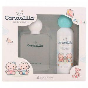 Luxana Canastilla - Coffret eau de toilette et savon liquide