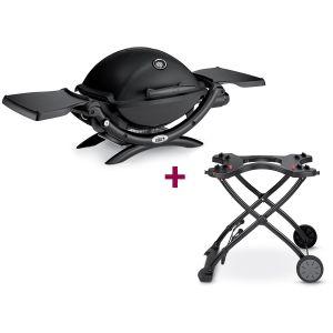 Weber Q1200 - Barbecue à gaz + chariot