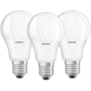 Osram Ampoule LED E27 4058075819436 forme standard 10.5 W = 75 W blanc chaud (Ø x L) 60 mm x 110 mm EEC: classe A+ 3 pc
