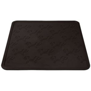 United Pets United Set pour gamelle antidérapant mustafa rectangle noir