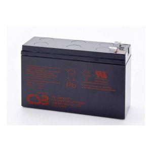 CSB battery Batterie au plomb 12 V 5.8 Ah HR 1224W plomb (AGM) (l x h x p) 151 x 98 x 51 mm connecteur plat 6,35 mm sans entretien, auto-décharge réduite