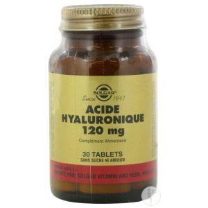 Solgar Acide Hyaluronique, 120 mg, 30 comprimés