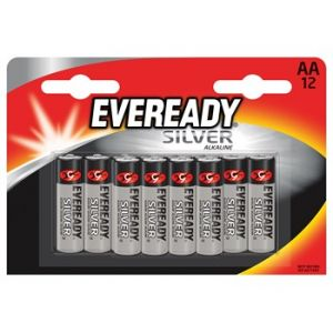 Eveready Gold 12 piles AA/LR6 Silver Alkaline