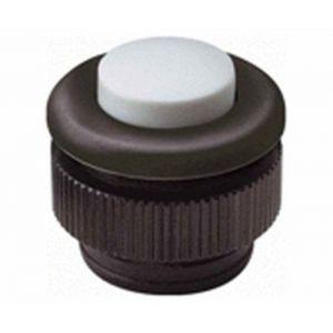 Grothe Bouton de sonnette 1 prise 61031 noir, blanc 24 V/1,5 A