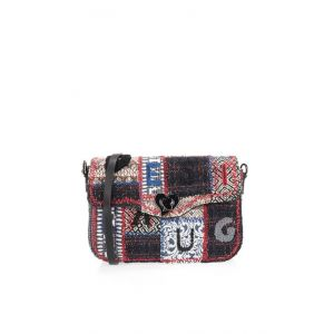 Desigual Sac Bandouliere PATCH 1968 AMORGOS Multicolor - Taille Unique