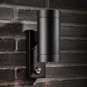 Nordlux 21512103 - Applique d'extérieur Tin Maxi avec détecteur de mouvement