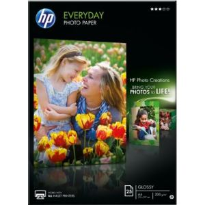 HP Q5451A - 25 feuilles de papier photo Everyday 170g/m² (A4)