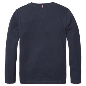 Tommy Hilfiger T-shirts Tommy-hilfiger Basic C Neck Knit - Sky Captain - 14