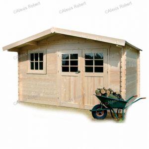 Solid S8965 - Abri de jardin Linz en bois 34 mm 13,21 m2