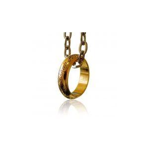 Noble collection Le Seigneur des Anneaux - Réplique officielle de l'anneau unique (taille 62)
