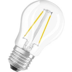 Osram CLASSIC - LED-Glühlampe - Form: P25 - klar Finish - E27 - 2 W ( Entsprechung 25 W )