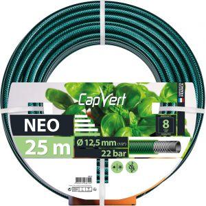 Cap Vert Tuyau d'arrosage Néo - Diamètre 12,5 mm - Longueur 25 m