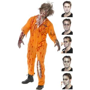 Kit pour maquillage zombie Halloween