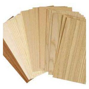 Creotime Assortiment de feuilles de bois - 12 x 22 cm - 30 pcs