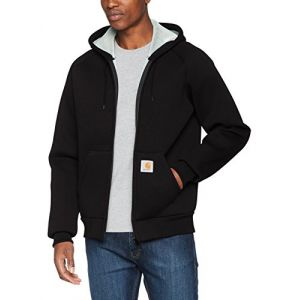 Carhartt Car-lux Hooded Jacket Pull, Noir