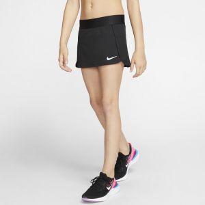 Nike Jupe de tennis Court pour Fille - Noir - Taille S - Female