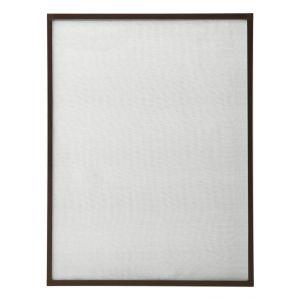 VidaXL Moustiquaire pour fenêtre Marron 80x120 cm