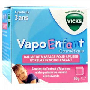 Vicks Vapo Enfant - Baume de massage