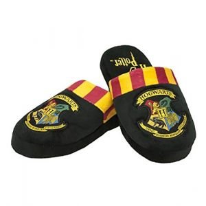 Harry Potter Hogwarts Adult Mule Slippers Men's 'Medi UK 5 7'