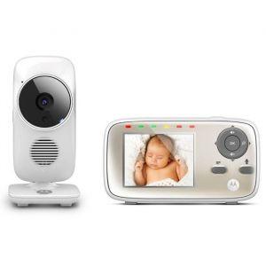 Motorola Ecoute bébé vidéo avec écran couleur 2,8'