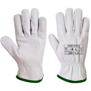 508214f7b498 Portwest Gants de manutention cuir ovin A260 Gris 11