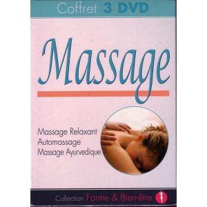 Coffret Massage - Massage Relaxant + Automassage + Massage Ayurvédique