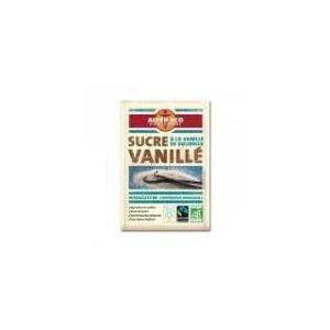 Alter Eco Sucre vanillé à la vanille de Bourbon bio et équitable (6 x 7.5g)