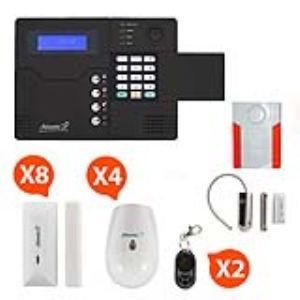 Atlantic's ST V Kit 6 - Alarme GSM sans fil