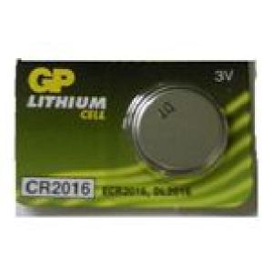 GP Batteries 1 pile bouton 3V CR2016 Lithium