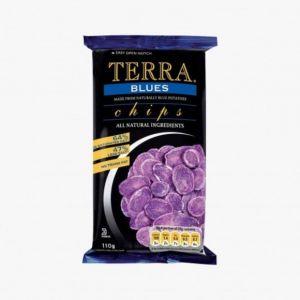 Terra Chips bleues - Le paquet de 100g