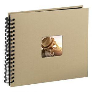 Hama Fine Art 36x32/50 10609 Spiralbound Album, taupe