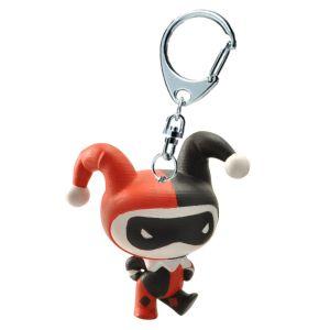 Plastoy Porte-clés Chibi : Justice League : Harley Quinn
