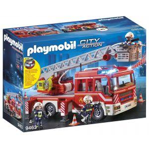 Playmobil 9463 - Camion Pompiers Échelle Pivotante