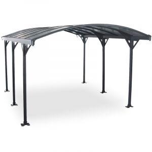 Concept-Usine Avera 4m : abri de voiture, carport en aluminium 4,3 x 3 m