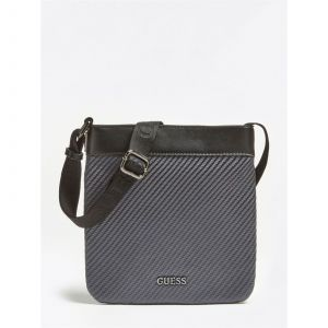 Guess Sacoche GLOBAL FUNCTIONAL MINI FLAT CROSSBODY Noir - Taille Unique