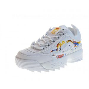 FILA Chaussures Femmes Baskets 1010609.90A Disruptor CALABRONE Low WMN Taille 39 Bianco Multi