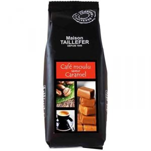 Le Temps des Cerises Café moulu saveur caramel (125g)