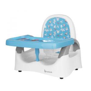 Badabulle Réhausseur de Chaise Confort Mickey pour Enfant Réglable en Hauteur | Pliable | Tablette Amovible