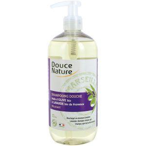 Douce Nature Shampooing douche lavande bio de Provence 500ml