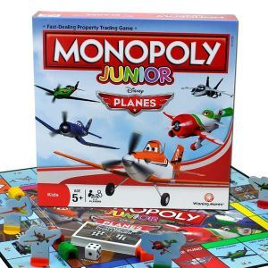 Winning Moves Monopoly Junior Planes