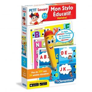 Clementoni Petit savant - Mon stylo parlant : Alphabet