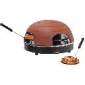 Bestron APG410 - Appareil à pizza Quartetto pour 4 personnes