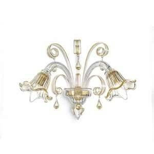 Ideal lux Applique CA' D'ORO AP2 - Ambre
