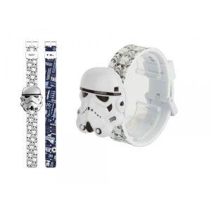 Zeon Ltd Montre pour enfant Star Wars Digitale 3D Stormtrooper avec bracelet interchangeable