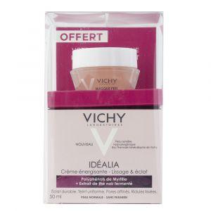 Vichy Idéalia - Crème énergisante - Lissage & éclat peaux normales a mixtes + masque peeling