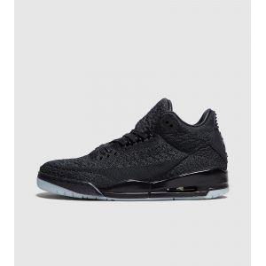 Nike Chaussure Air Jordan 3 Retro Flyknit pour Homme - Noir - Taille 44